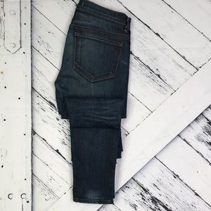 J BRAND The Deal Skinny Leg with Zippers Tyro Wash